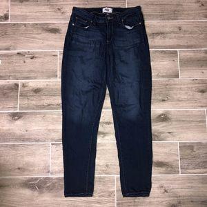 Paige Verdugo Ankle Dark Jeans Size 28